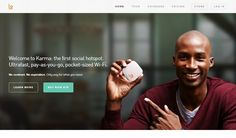 Karma - an awesome website