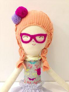 Handmade Dolls with Glasses - Tiny Little Dream on Etsy - SmallforBig.com