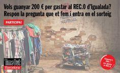 Guanya 200 € per gastar al REC.0 d'Igualada
