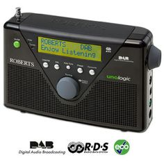 Roberts Lightweight Portable DAB / FM RDS Radio with DAB/FM RDS wavebands Built-in battery charger ï¾– ideal for standard (AA size) rechargeable batteries FM RDS station name display Rotary tuning and volume controls Station name / multi preset mode One http://www.MightGet.com/february-2017-1/roberts-lightweight-portable-dab--fm-rds-radio-with.asp