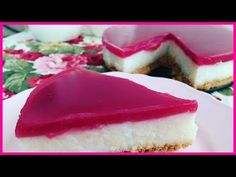 VISNE SOSLU YALANCI CHEESECAKE || Tatli Tarifleri - YouTube