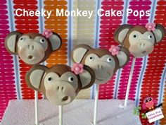 Cheeky Monkey Cake Pop Tutorial - Cake Pop Creations - Cake Style TV