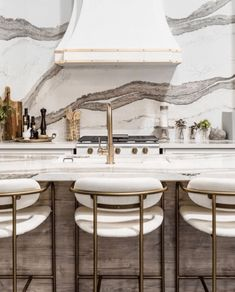 Kitchen Island Chairs With Backs, Counter Stools With Backs, Modern Counter Stools, Modern Kitchen Island, Kitchen Counter Stools, Modern Bar Stools, Modern Farmhouse Kitchens, Best Bar Stools, Leather Counter Stools