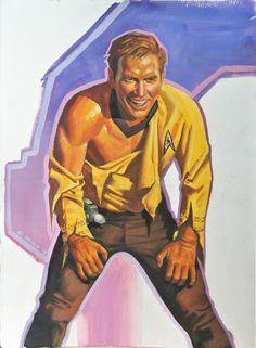 Steve Rude Captain Kirk