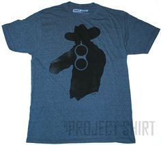 Ames Bros Get Off T-Shirt. Kind of reminds me of Rick Grimes from The Walking Dead series on AMC.