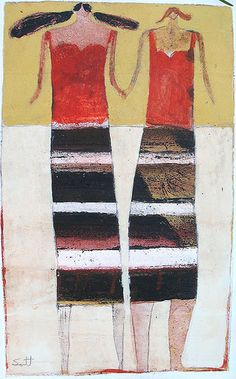 Scott Bergey.                                                 sisters with tiny heads.