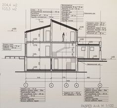 Examples of filing 2015 Source by Architecture Portfolio, Concept Architecture, Interior Architecture, Building Foundation, Project Presentation, Construction Drawings, House Roof, Autocad, House Plans