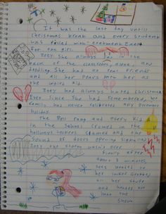 Amika (6th grade) wrote this delightful little character-driven story and won a Mr. Stick of the week award. Check out my Mr. Stick resources at:  http://corbettharrison.com/Mr_Stick.html