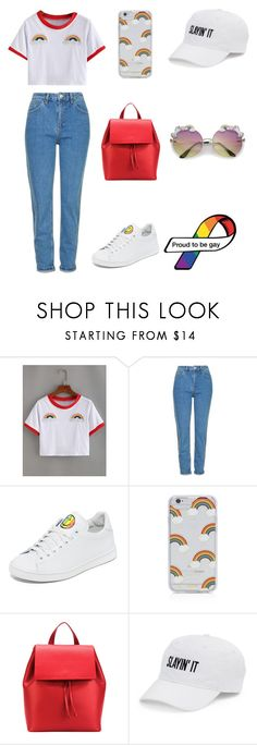 """Untitled #64"" by lupitasalas ❤ liked on Polyvore featuring Topshop, Joshua's, Sonix, Aesther Ekme and SO"