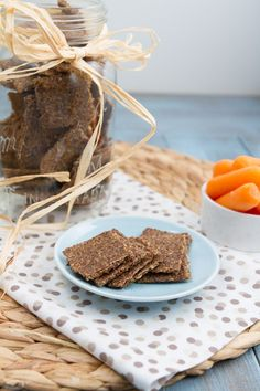 Thyme and Onion Crackers (Grain-free + Nut-free)