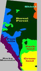 Alberta Grade 4 Social Studies 4.1  - Geographical regions of Alberta