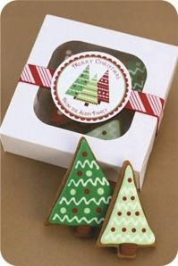 ideias de embalagem para biscoitos de natal                                                                                                                                                     Mais