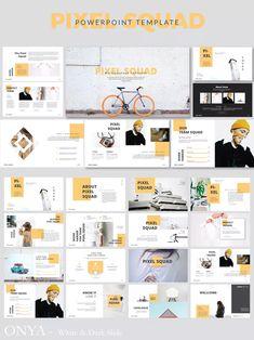 Pixma Squad Presentation by templatehere on Envato Elements Design Web, Layout Design, Slide Design, Book Design, Slide Presentation, Keynote Presentation, Presentation Design Template, Template Brochure, Powerpoint Design Templates