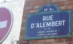 La rue d'Alembert  (Paris 14ème). Arrondissement, French Revolution, Paris Street, 18th Century, Literature, Rues, Michel, Monuments, Squares