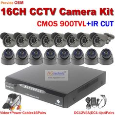 577.75$  Watch now - http://alimp0.worldwells.pw/go.php?t=32606359796 - New arrival 900TVL CMOS CCTV System indoor outdoor ir night vision waterproof Security system 16ch motion detect Network DVR kit 577.75$
