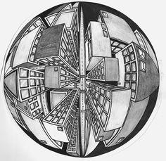 5 Point Perspective Buildings by JordanTuckerDesigns.deviantart.com on @deviantART
