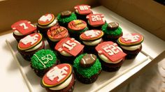 49er cupcakes