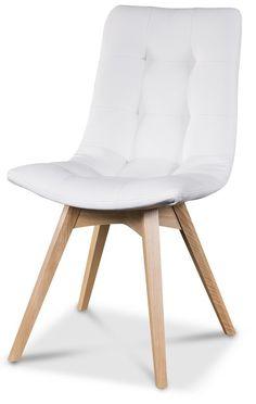 Köp - 1390 kr! Alvar matstol - Valfri färg på klädsel och ben!. Alvar matstol är en stol med klädd sits och klädd Accent Chairs, Beige, Sweden, House, Furniture, Home Decor, Upholstered Chairs, Decoration Home, Home