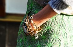 lucky charms #details #fashionweek #streetstyle #pfw #accessories