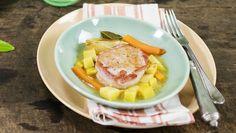 Lombo com batata-doce e molho de laranja - Cozinha Prática - GNT