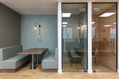 Central Working co-working hub by Kinnersley Kent Design, London – UK Coworking Space, Office Interior Design, Office Interiors, Office Designs, Commercial Design, Commercial Interiors, Loft Office, Smart Office, Grey Office