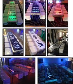 ILLUMINATED LEDs 2 ft. x 8 ft.– w/Graphics