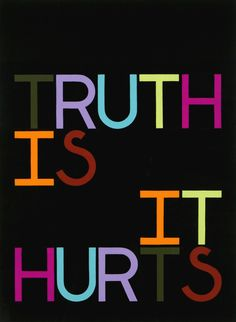 """Tauba Auerbach, Truth Is/ It Hurts, 2007, Gouache on paper, 30"""" x 22"""""""