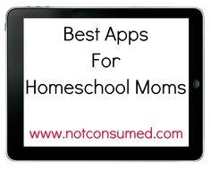 Best Apps for Homeschool Moms