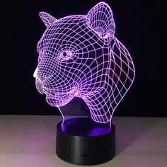SHARE & Get it FREE | Christmas Festival 3D Leopard Head Shape Touch Colorful Night LightFor Fashion Lovers only:80,000+ Items·FREE SHIPPING Join Dresslily: Get YOUR $50 NOW!