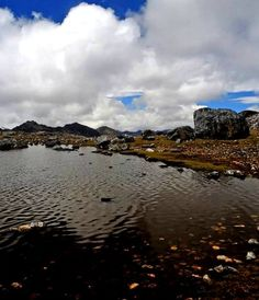 Laguna Achocolatada, Edo. Mérida Venezuela