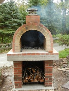 homemade outdoor pizza oven plans - Wood Burning Pizza Oven Can do ...