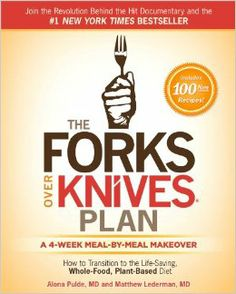 We are pleased to share the cover for our upcoming book The Forks Over Knives Plan! The book explores the details of an FOK lifestyle, provides a four-week diet makeover, and has 100 hearty and tasty new recipes. Authored by Dr. Alona Pulde and Dr. Matt Lederman (from the documentary), the book is out September 16 and available now for preorder. For more info and to receive a copy upon release, visit Amazon at http://amzn.to/1euUmQJ