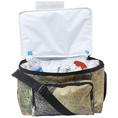 1 Tree Camo Cooler Insulated Lunch Bag Hunting Camouflage Tote 6 Can Snack Box -- Check out the image by visiting the link.(This is an Amazon affiliate link and I receive a commission for the sales)