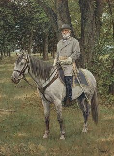 """""""And now at last,  Comes Traveller and his master.  Look at them well.  The house is an iron-grey, sixteen hands high,""""  wrote the poet Stephen Vincent Benet in his poem called """"Army of Northern Virginia"""""""