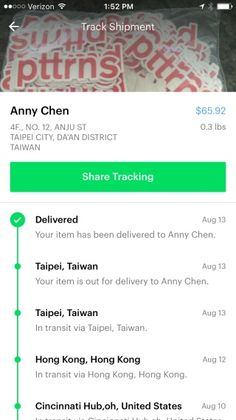 Shyp - Shipping on Demand: Pickup, Packaging and Delivery Tracking | Pttrns