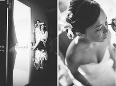 Bride getting her makeup & hair done at the Radisson Aruba. Captured by destination wedding photographer Ben Lau.
