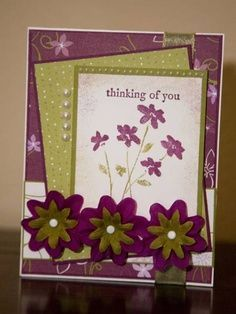 Cards: Sympathy & Thinking Of You on Pinterest | Handmade sympathy ...