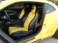 2010 NicKey Stage III S 427 Camaro 750hp | Nickey yellow and black interior