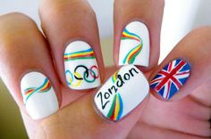 olympic 2012 nails