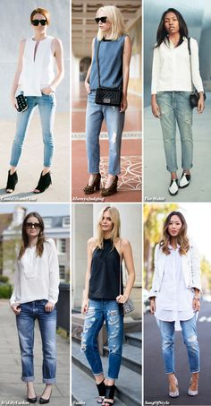 Inspiration: Top + Jeans
