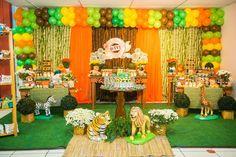 Veja fotos de como decorar uma festa infantil com tema safari - Mães - GNT Safari Party, Safari Theme, Wild Ones, Kids, Painting, Party Ideas, Bento, Babys, Grande