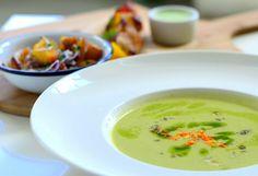 Concordia Taste / Lunch / Zupa krem z zielonych warzyw / Soup of green wegetables