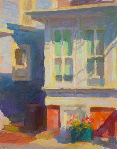 - Provincetown Windows by John Ebersberger Impressionist Paintings, Landscape Paintings, Impressionism, Landscapes, Watercolor Illustration, Watercolor Art, Kitsch, House Painter, Paintings I Love