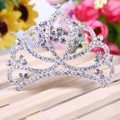 Corona Tiara Diadema Peine Nupcial Novia Boda Princesa Diamante de Imitación #01 - es.tmart.com #corona #tiara #diadema #crown #novia #nupcial #wedding #boda #fiesta #evento #queen #princesa #princess #reina #moda #belleza #beauty #plata #birthdayparty #makeupparty #party #regalo #gift #girl #wishlist #navidad #christmas #tmart #Tmart #joyas #joyeria #jewellery #pulsera #anillo #pendiente #collar #silver #oro #lujo #accesorios #bridal #headband #plata #comb #peine #haircomb #hair #pinza #pin