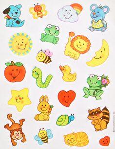 Vintage Smiling Animals Sticker sheet by HALLMARK