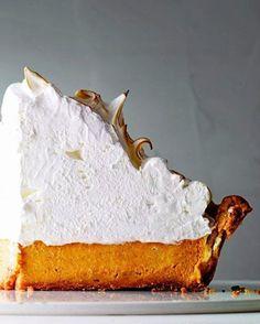 Deep Dish Pumpkin Pie Meringue