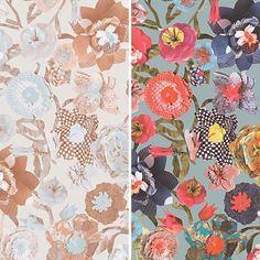 Nouveau comme création OILILY Motif Floral Patchwork Fleur Motif papier peint texturé | Home, Furniture & DIY, DIY Materials, Wallpaper & Accessories | eBay!