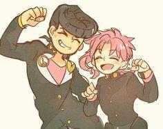 If Kakyoin grew up with Josuke instead of Jotaro.