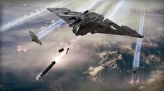 The Eclipse, a stealth bomber from Aegis, is now available during its concept sale! This is what we know about the first stealth ship in Star Citizen. Star Citizen, Citizen News, Concept Ships, Concept Art, Stealth Bomber, Stealth Aircraft, Passenger Aircraft, Starship Concept, Space Battles