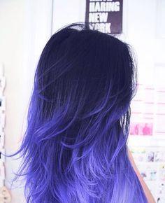 Dark purple to light purple